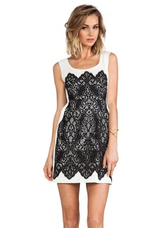 Nanette Lepore Kissing Booth lace Dress