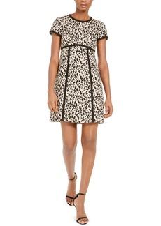 Nanette Lepore Leopard-Print Sheath Dress
