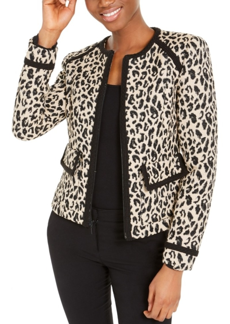 Nanette Lepore Love Me Leopard-Print Jacket