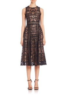 Nanette Lepore Lovely Lace Fit-&-Flare Dress