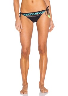 Nanette Lepore Mantra Embroidery Vamp Bikini Bottom