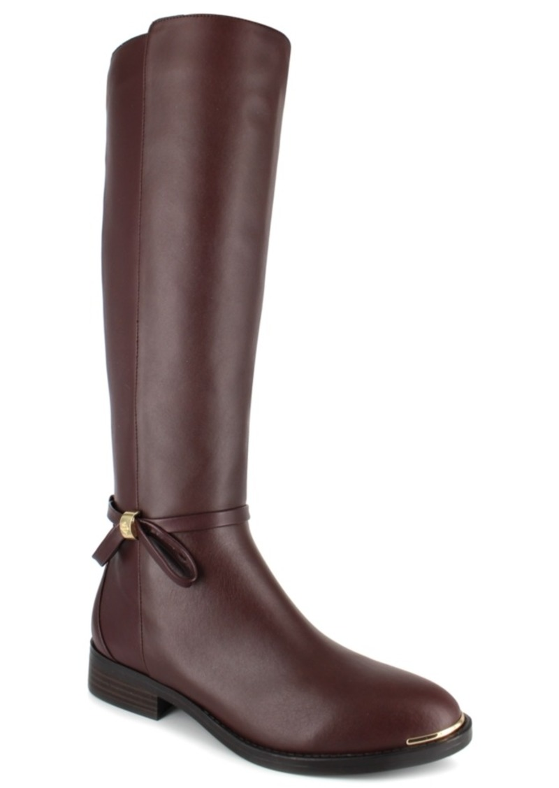 Nanette Nanette Lepore Margaux Riding Leather Boots Women's Shoes