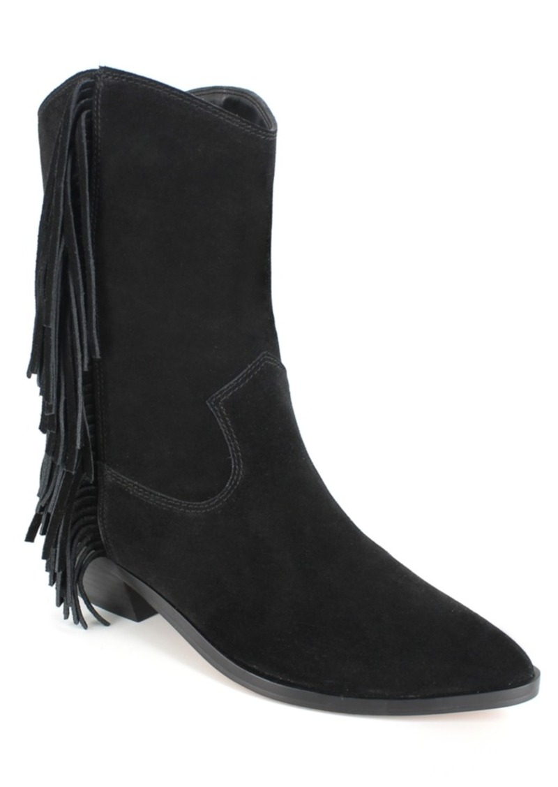 Nanette Nanette Lepore Monica Fringe Booties Women's Shoes