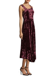 Nanette Lepore Moulin Velvet Rouge Dress