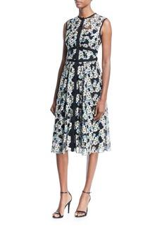 Nanette Lepore Night Dream Sleeveless Floral Dress