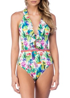 Nanette Lepore One-Piece Goddess Swimsuit