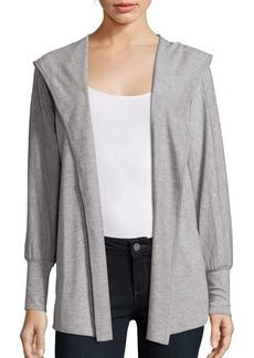 Nanette Lepore Open Front Heathered Jacket