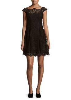 Nanette Lepore Picasso Moon Lace Dress