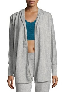 Nanette Lepore Play Breaded-Trim Hooded Cardigan