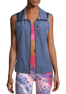Nanette Lepore Play Packable Laser-Cut Vest