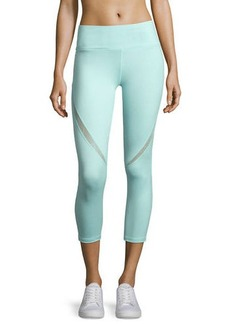 Nanette Lepore Play Swerve Wide-Waist Capri Leggings