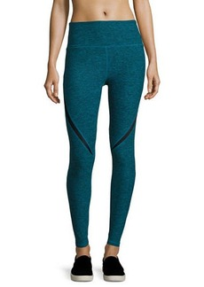 Nanette Lepore Play Swerve Wide-Waist Leggings
