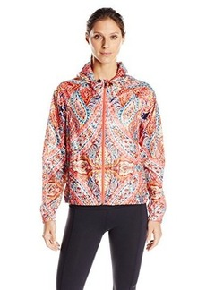 "Nanette Lepore Play Women's ""Carousel"" Print Hi-Low Packable Windbreaker"