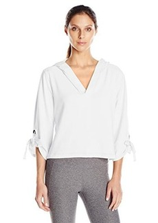Nanette Lepore Play Women's Cropped Pullover Hoodie