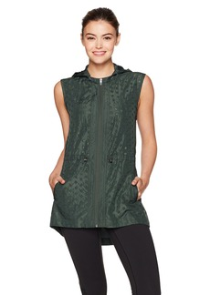Nanette Lepore Play Women's Embroidered Eyelet Vest  L