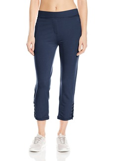 Nanette Lepore Play Women's Lace-Up Capri Jogger