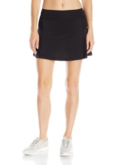 Nanette Lepore Play Women's Mesh Blocked Skort with Botanica Print Short