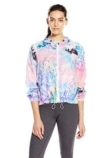 "Nanette Lepore Play Women's ""Monet"" Print Hi-Low Packable Windbreaker"