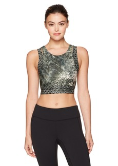 Nanette Lepore Play Women's Monsoon Cut Out Crop Top  M