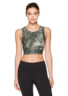 Nanette Lepore Play Women's Monsoon Cut Out Crop Top  S