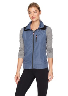 Nanette Lepore Play Women's Packable Lasercut Vest  M