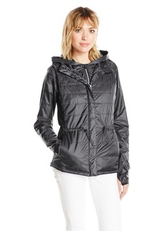 Nanette Lepore Play Women's Packable Quilted 3-in-1 Windbreaker  L