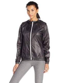 Nanette Lepore Play Women's Plus Sizelaser Cut Packable Windbreaker Size  L