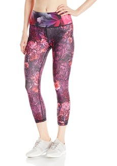"Nanette Lepore Play Women's Print Smoothe Capri Legging 21""  XL"
