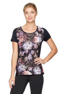 Nanette Lepore Play Women's  Printed Active Tee M
