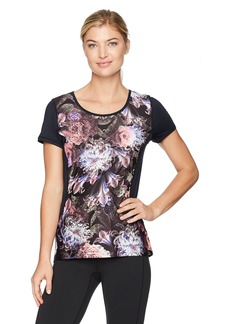 Nanette Lepore Play Women's Printed Active Tee  S
