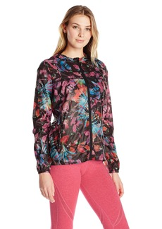 Nanette Lepore Play Women's Printed Packable Windbreaker  S