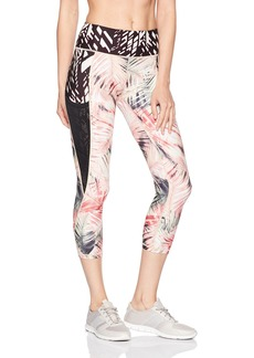 Nanette Lepore Play Women's Rain Forest Slide Capri  M