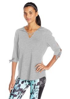 Nanette Lepore Play Women's Tie-Sleeve Top  XS