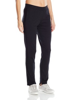 Nanette Lepore Play Women's Tri Blend French Terry Lace Track Ankle Pant