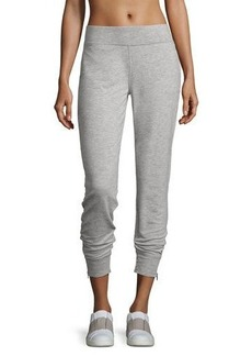 Nanette Lepore Play Zip-Cuffs French Terry Pants
