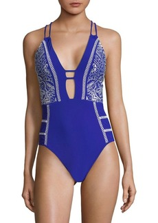 Nanette Lepore Portofino Goddess One-Piece Swimsuit