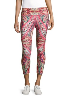 Nanette Lepore Printed Cropped Leggings
