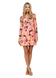 Nanette Lepore Racy Rose Dress