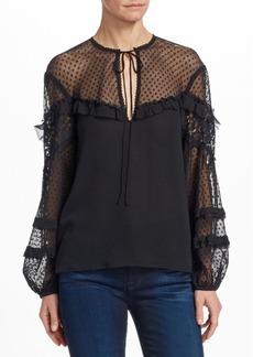 Nanette Lepore Renaissance Silk Blouse