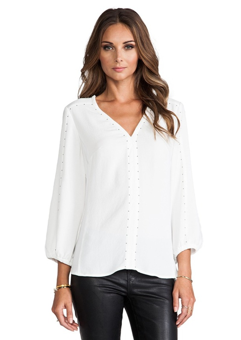 Nanette Lepore Risky Business Blouse in White