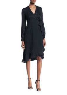 Nanette Lepore Romeo Long-Sleeve Wrap Dress
