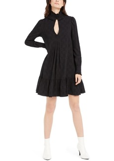 Nanette Lepore Ruffle-Trim Pleated Dress