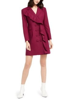 Nanette Lepore Ruffled Coat Dress