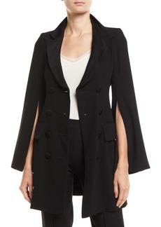 Nanette Lepore Sahara Long Slit-Sleeve Coat