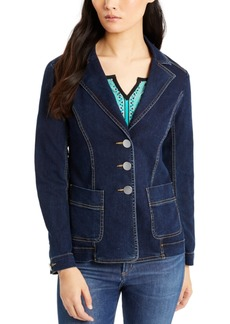 Nanette Lepore Seamed Denim Jacket