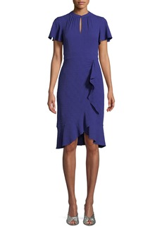 Nanette Lepore Second Act Ruffle Shift Dress