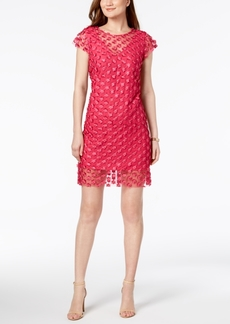 Nanette by Nanette Lepore Sheer Applique Sheath Dress