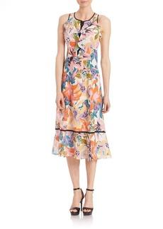 Nanette Lepore Silk Una Vez Mas Dress