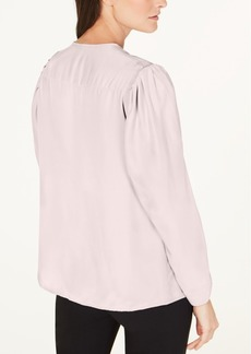 Nanette Lepore Silk V-Neck Top, Created for Macy's