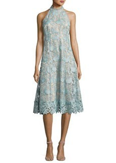 Nanette Lepore Sleeveless Floral Lace Cocktail Dress
